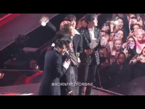 190501 BTS React to Top Duo/Group Win + Acceptance Speech @ BBMAs