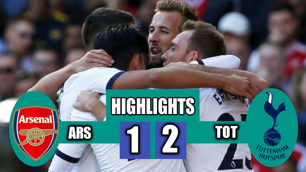 Arsenal vs Tottenham • Eriksen Goal vs Arsenal • Harry Kane goal vs Arsenal • Lacazette Goal