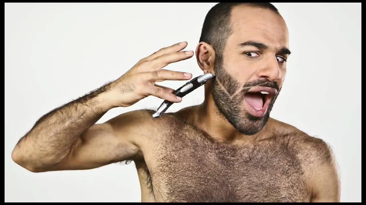Hairy men clips