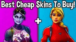 10 BEST SKINS TO BUY ON A BUDGET! (Fortnite Amazing Cheap Skins)