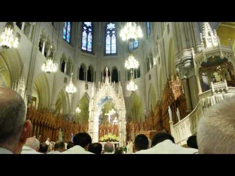 2016 Permanent Diaconate Ordination - Catholic Archdiocese of Newark, NJ. Sacred Heart Cathedral