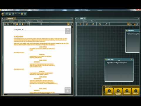 articy:draft 1 Tutorial: #10 - Scratchpad and Word Export |