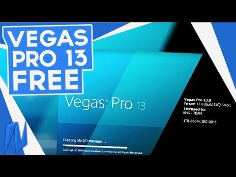 Sony Vegas Pro 13 Free Download! (Best Method) | Doovi