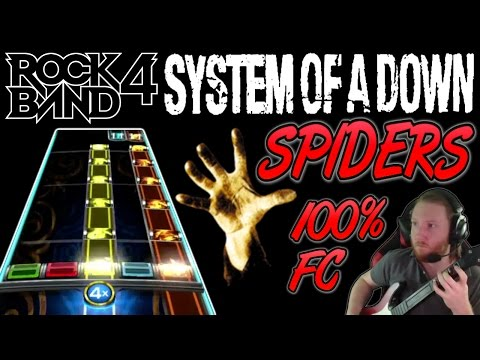System Of A Down - Spiders 100% FC (Rock Band 4, Expert)