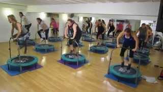 Aerofunk | Rebounding fitness class - Wednesday 17Sep14 8pm YouTube Videos