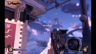 Gameplay Bioshock Infinite (PC + XBOX Controller)