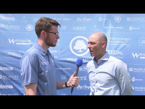 Post Match Interview with Coach Rudland- May 29, 2017 vs Grand Rapids FC
