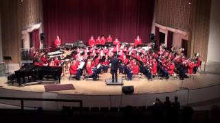 The Grove City High School Symphonic Band under the direction of Ja...