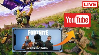 (EASY) How to Live Stream Fortnite From iOS to YouTube