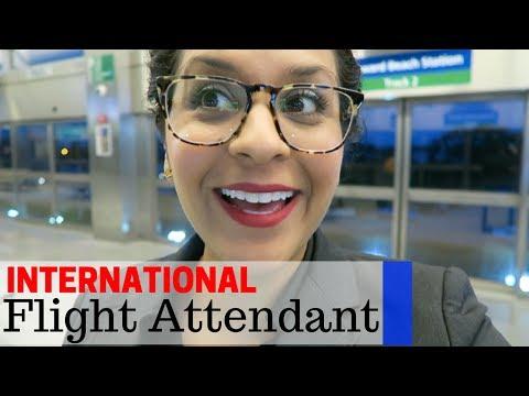 Working International Trips     Flight Attendant Life     VLOG 41