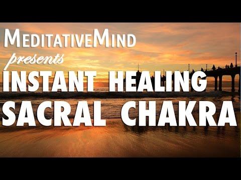 (Almost) Instant Sacral Chakra Healing Meditation Music - Svadhishthana