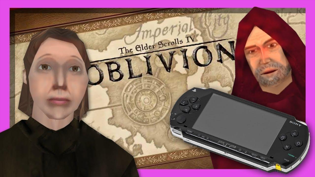 A Look at Oblivion's Cancelled PSP Port - Port Patrol