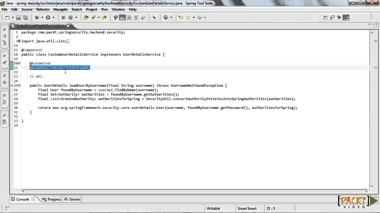 Spring Security Tutorial: REST with Basic Authentication | packtpub com