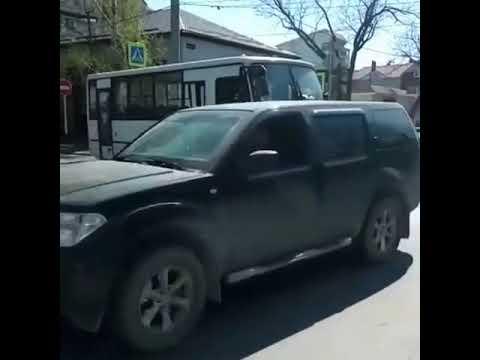 В Анапе автобус попал в ДТП