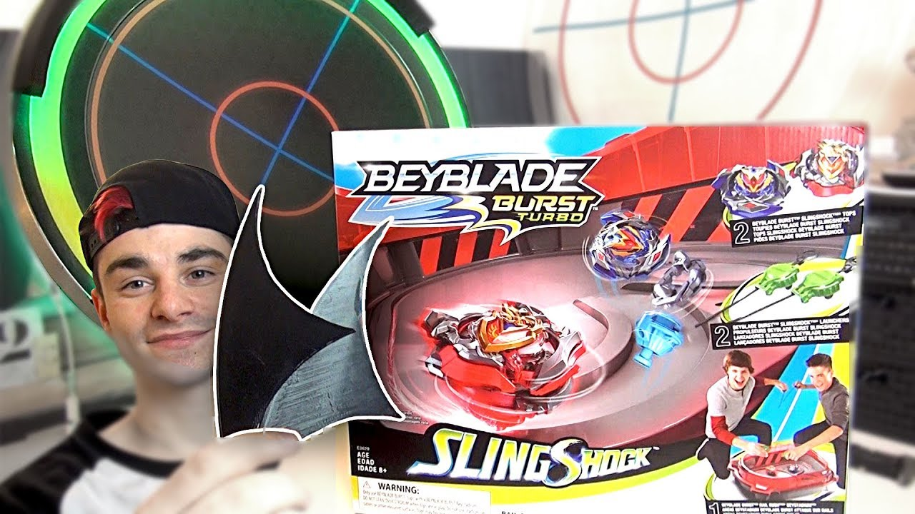 BEYBLADE BURST TURBO SLINGSHOCK pack + combat test prototype