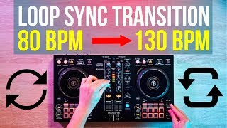 """How to do that CRAZY """"Build Up Loop"""" Transition!"""