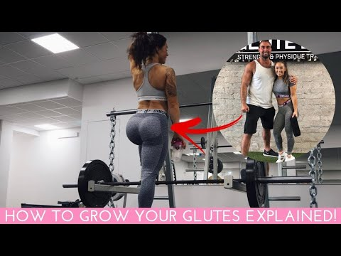 HOW TO BUILD YOUR GLUTES THE SCIENTIFIC WAY EXPLAINED BY THE