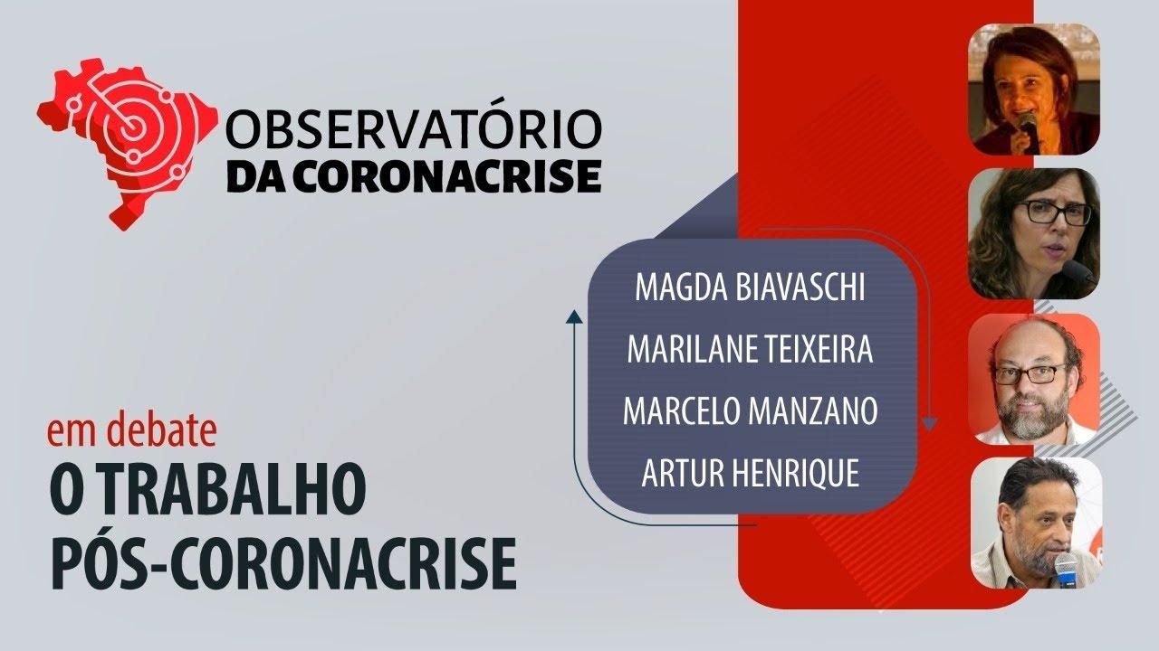 #AOVIVO | O trabalho pós-coronacrise | Observatório da Coronacrise