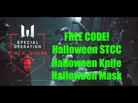Warface Europe - ANOTHER FREE CODE - STCC + Halloween Knife And Mask![Expired]