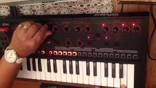 Roland JD-Xi Mostly mellow improv!