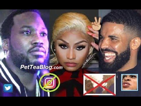 "Meek Mill Says Nicki Minaj Blocked Him, Drake Unfollows & ""You Need OPPS"" Shade Thrown #AskMeek 🧐"