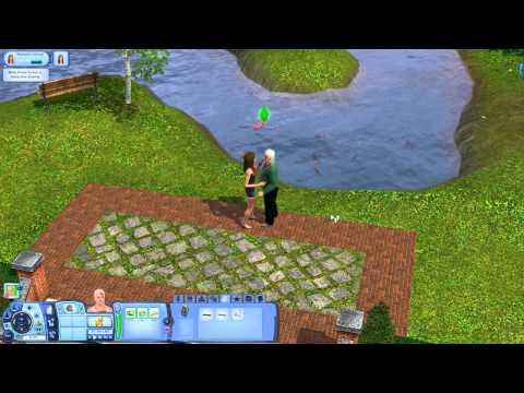 Sims 3 L2p: Episode 5 - Park Date