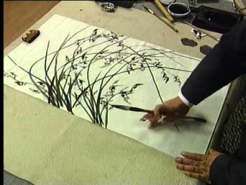 Another way to Paint Chinese Orchids. 2. of 2.
