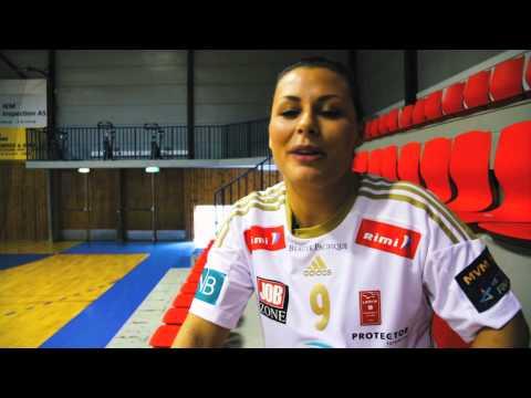 Behind the scenes at Larvik's MVM EHF FINAL4 photo shoot