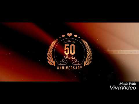 50th anniversary invitation video of my nana nani youtube 50th anniversary invitation video of my nana nani stopboris Image collections