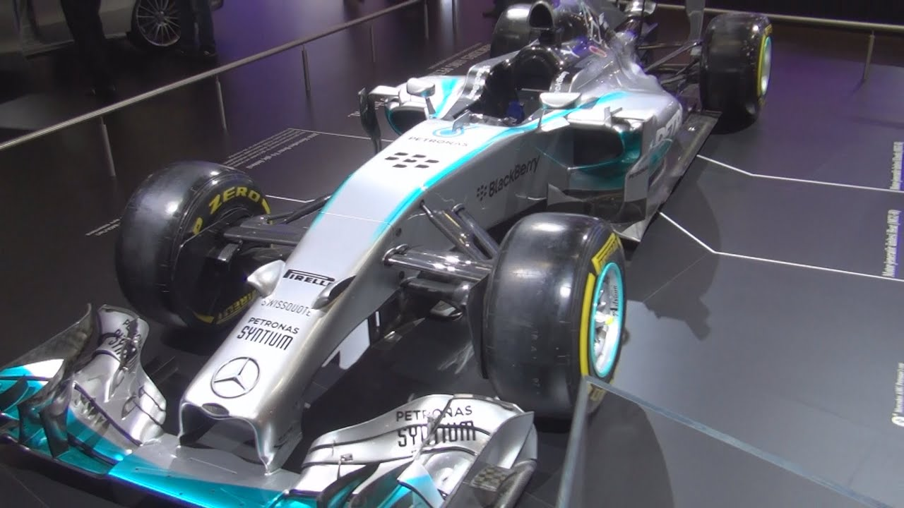 mercedes amg petronas f1 w05 hybrid exterior and interior in 3d youtube. Black Bedroom Furniture Sets. Home Design Ideas
