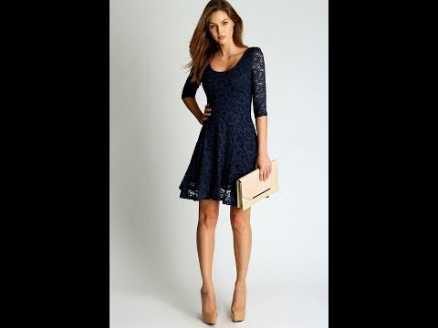 Dark Blue Dresses | Navy Dresses for Weddings