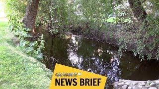 Dead body found in creek