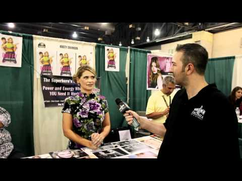Kristy Swanson @ Comic Con 2012 Exclusive Interview!!!!