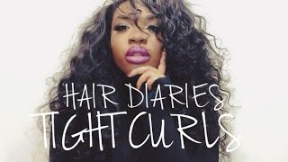 One of Annie Drea's most viewed videos: TIGHT CURLS (NO HEAT) | AnnieDreaXO