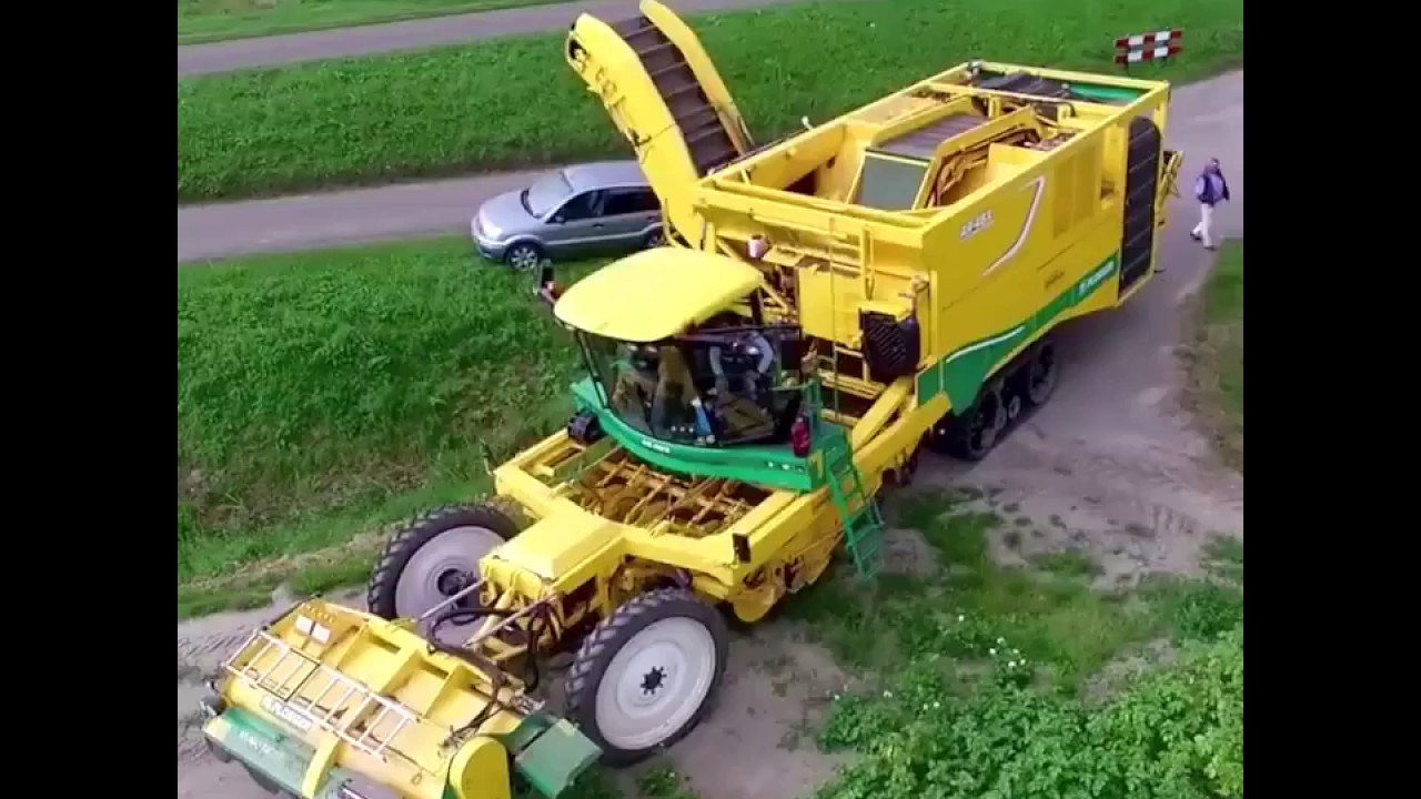 Download Potato Harvester - Awesome Machines