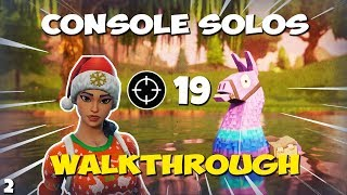 How To: WIN CONSOLE SOLOS *bot lobby* 19 KILLS (Fortnite Elite Controller) EP. 2