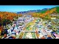 Drone Japan 4k ドローン 空撮映像 「君の名は。」聖地巡礼 新海誠監督の故郷(ふるさと) 長野県小海町 千曲川 小