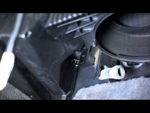 Dodge ram 1997 ac blower motor replaced youtube for Dodge ram blower motor not working