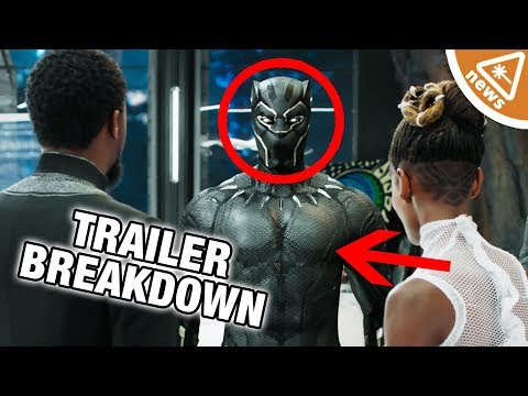 7 Things We Loved in the New Black Panther Trailer! (Nerdist News w/ Jessica Chobot)