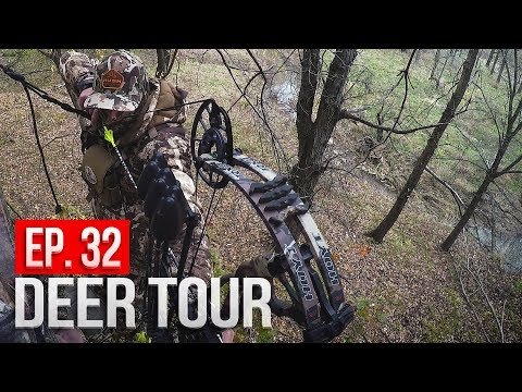 PUBLIC LAND Bowhunting W/ HUSH, 3-Day EMOTIONAL Rollercoaster - DEER TOUR E32