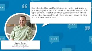 Work and Life at CTP: Justin Geiser Shares His Experiences