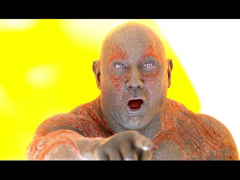 GUARDIANS OF THE GALAXY 2 Movie Clip - Drax's Big Laugh (2017) Marvel Superhero Movie [4K ULTRA HD]