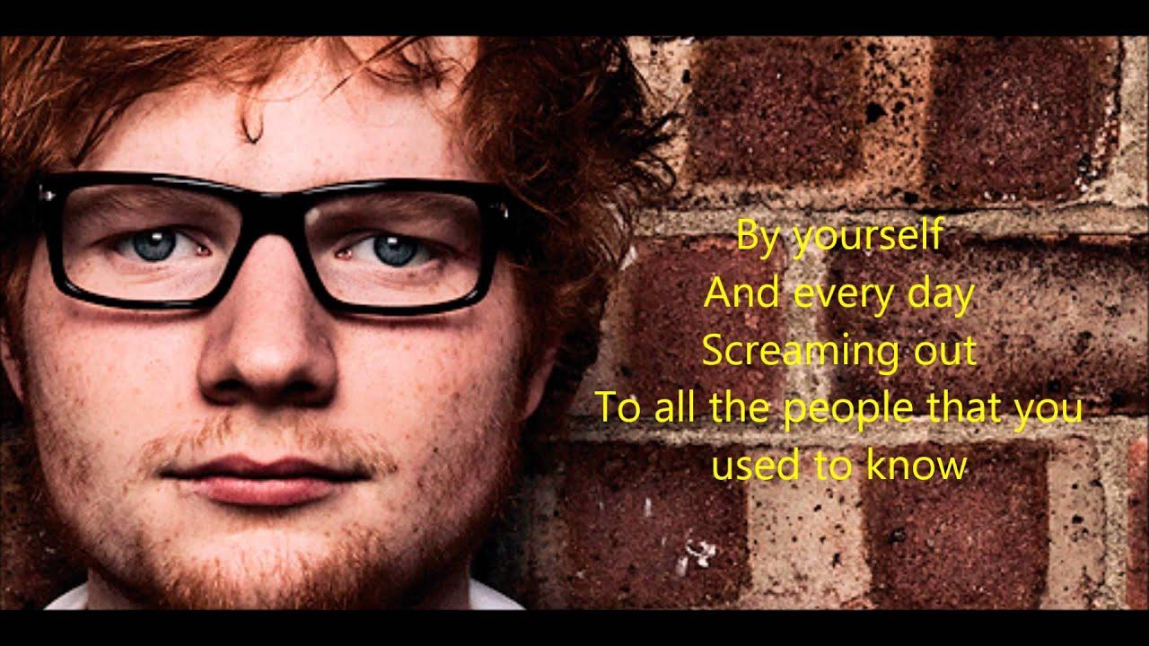 ed sheeran new yorklyrics  youtube