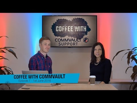 Protect SQL-Oracle-Exchange Instances With App Aware VM Backup - EP7 Coffee With Commvault Support