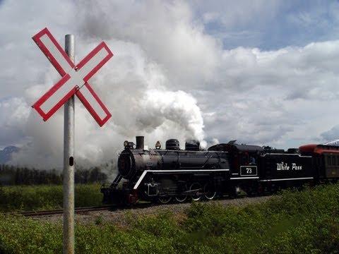 Mit Dampf & Diesel durch Alaska | White Pass & Yukon Railroad
