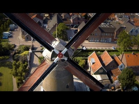 25 jaar Koren-molen de Windotter IJsselstein (Utrecht). film, molenfilm, Windmolen, Windmill