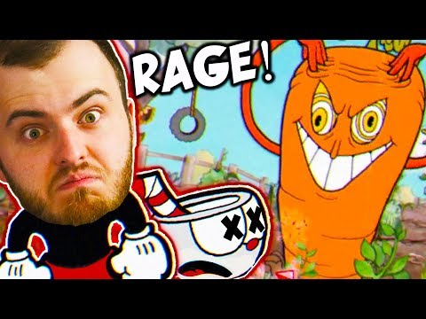 I'M GOING TO RAGE QUIT LIFE (Cuphead Angry/Funny Moments)