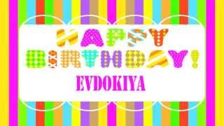 Evdokiya Birthday Wishes & Mensajes