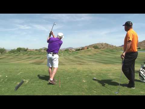 Malaska Golf - Golf Lesson: Swing at the Ball Like You Swing at a Tee
