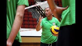 Olsztyński AZS po pierwszym treningu z nowym trenerem